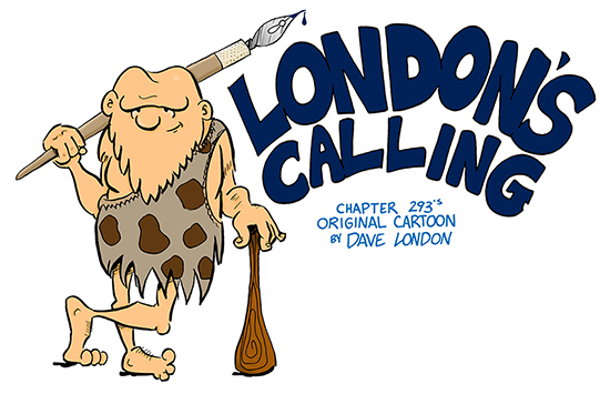 London's Calling - Cartoon by David London