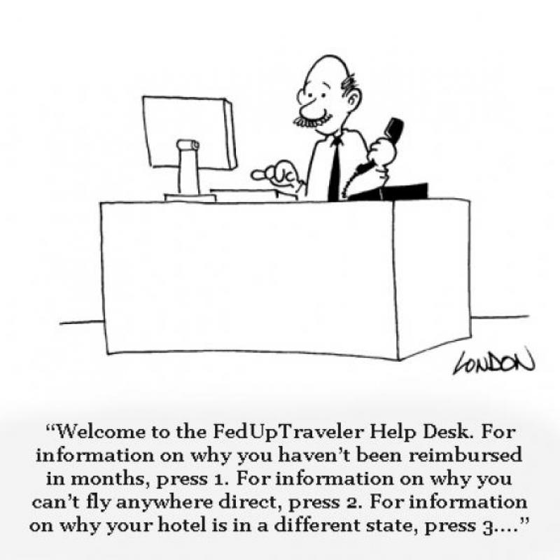 Welcome to the FedUp Traveler Help Desk ...