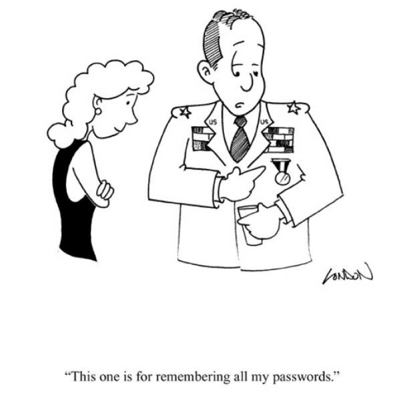 This one is for remembering all my passwords